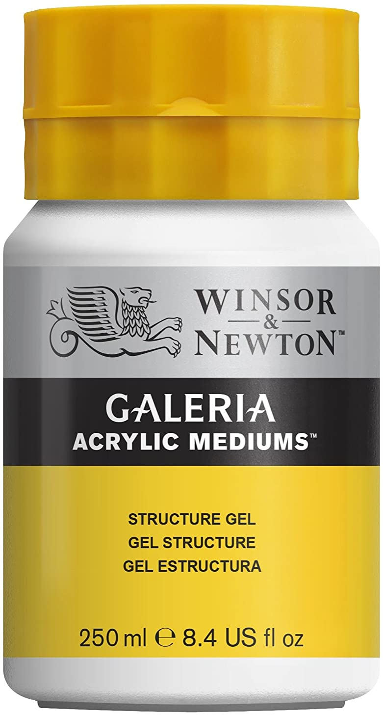 Winsor & Newton Galeria Acrylic Medium Structure Gel, 250ml