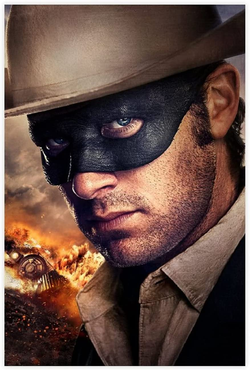 The Lone Ranger Classic Popular Movie 86 All items free shipping Wa Canvas Poster Ranking TOP10