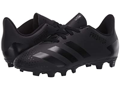 adidas Kids Predator 20.4 FxG J Soccer (Little Kid/Big Kid) (Black/Solid Grey) Kids Shoes