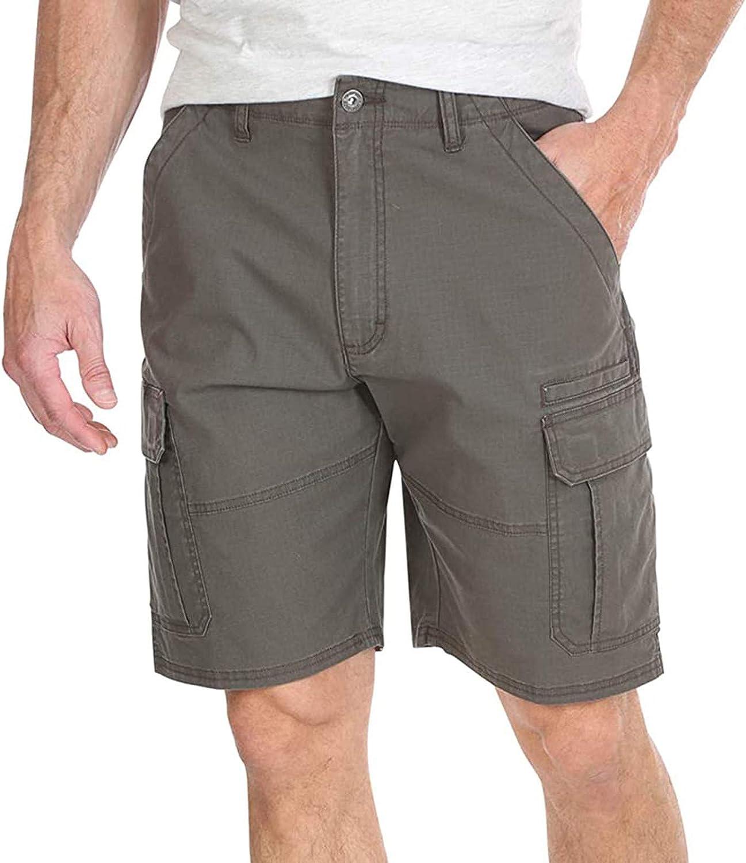 FACAIA Mens Cargo Shorts Cotton Relaxed Fit Camouflage Camo Cargo Short