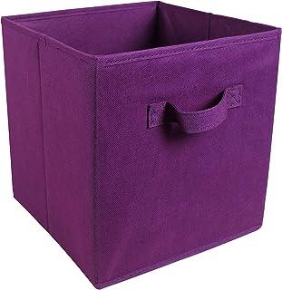 JKLJKL Bouchons de Rangement Pliable carré Organisateur Organisateur de Stockage de Stockage Panier Vêtements Boîte Pliabl...