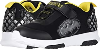 Favorite Characters Boys Batman Athletic Shoes with Premium Lights (Toddler/Little Kid) Black