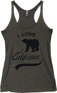 The Bold Banana Women's I Love California Tank Top