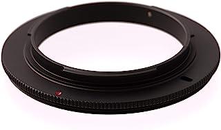 67mm Anillo de inversión de Macro Adaptador para Macro fotografia. Compatible con Canon EOS 2000D 4000D 200D 800D 80D 6D Mark II 6D 7D Mark II 5D Mark IV EOS-1D X Mark II 5DS R 5DS
