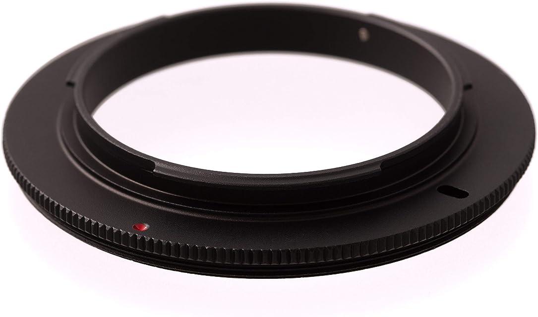 52mm Anillo de inversión de Macro Adaptador para Macro fotografia. Compatible con Nikon D3500 D850 D7500 D5600 D3400 D5 D500 D750 D7299 D810 D5300 D610