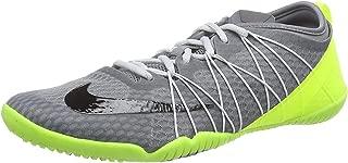 Nike Women's Free 1.0 Cross Bionic 2 Cross Training 718841-002 Cool Grey/Volt/Pure Platinum Black Size 8
