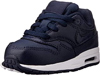 Nike Australia Air Max 1 (TD) Baby Boys Sneakers, Obsidian/Obsidian-White