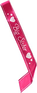 Beistle 60196 Big Sister Satin Sash, 27-Inch by 3-1/2-Inch