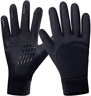 Gotop Winter Running Gloves, Lightweight Touchscreen Gloves, Newest Thermal Liner Gloves for Men and Women Cycling Driving Hiking Running