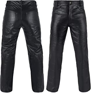 leather jeans for mens