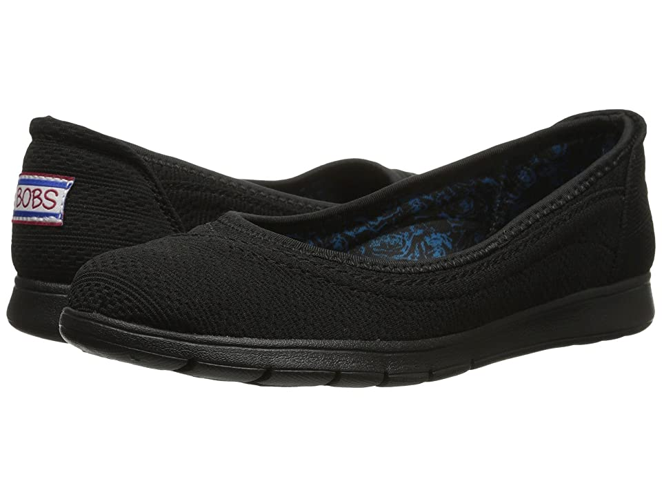 BOBS from SKECHERS Pureflex (Black/Black) Women
