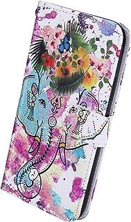 Herbests Kompatybilny z iPhone 11 Pro portfel skórzane etui z klapką stojak pokrowiec ochronny z wytłoczonym uroczym fajny...