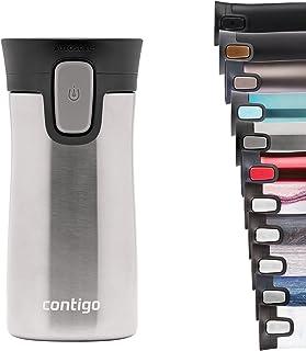 Contigo Pinnacle Autoseal Travel Mug, Stainless Steel Thermal Mug, Vacuum Flask, Leakproof Tumbler