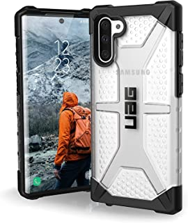 UAG for Samsung Galaxy Note 10 Anti-Shock Rugged Cover Urban Armor Gear Military Drop Tested Protective Case - Plasma Clear
