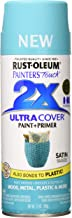 Rust-Oleum 315395 Painter's Touch 2X Ultra Cover, 12 Oz, Satin Seaside