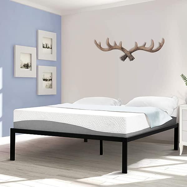 SLEEPLACE SVC16BX09F Bed Frame Full Black