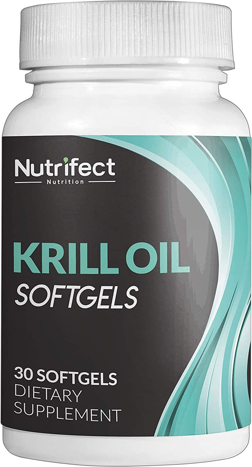Nutrifect Nutrition 100% Antarctic OFFicial mail order Krill with Super Oil Antioxid Max 79% OFF