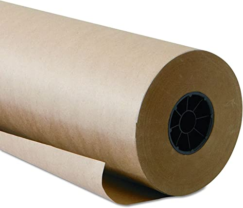 Kraft Paper Roll 48 X 1800 Inch - Brown Craft Paper Table Cover Packing Wrapping Paper