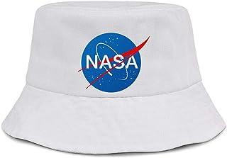PoKniy Bucket Hats for Men/Women Old NASA Logo Cute Fishing Cap