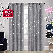 Best gray blackout curtains nursery Reviews