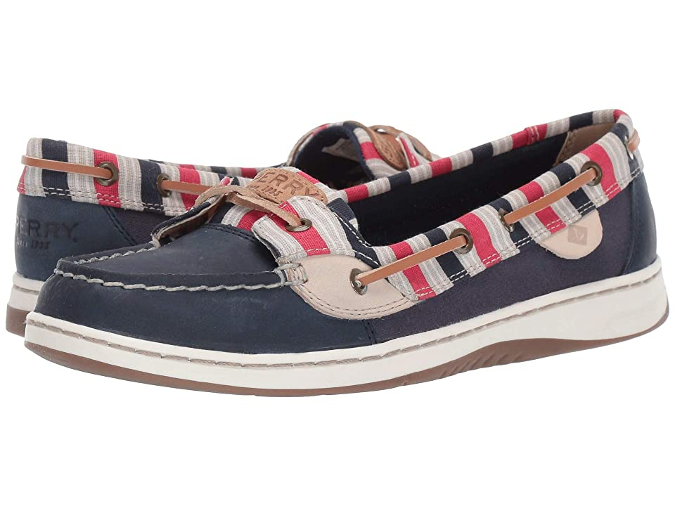 Sperry Angelfish Stripe (Navy/Red Stripe) Women