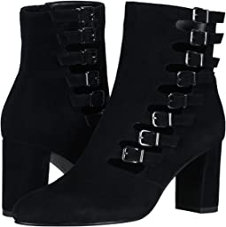 Black Suede Soft Calf