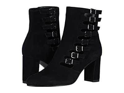 David Tate Mood (Black Suede Soft Calf) Women