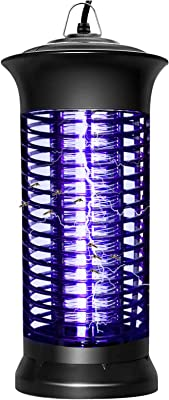 Bug Zapper Mosquito Killer Lamp, Electronic Insect Attractant Trap Powerful Bug Light, Mosquito Zappers Fly Gnat Zappers for Indoor