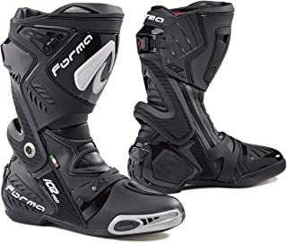 Forma Ice Pro Street Motorcycle Boots (Black, Size 12 US/Size 46 Euro)