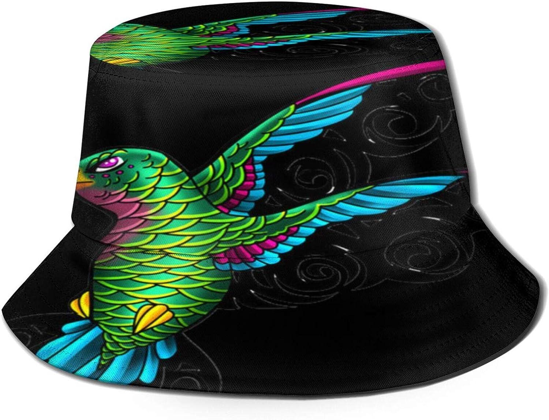 Hummingbird Direct sale of manufacturer Bucket Hat Unisex Sun Summer OFFicial store Fisherman Packable