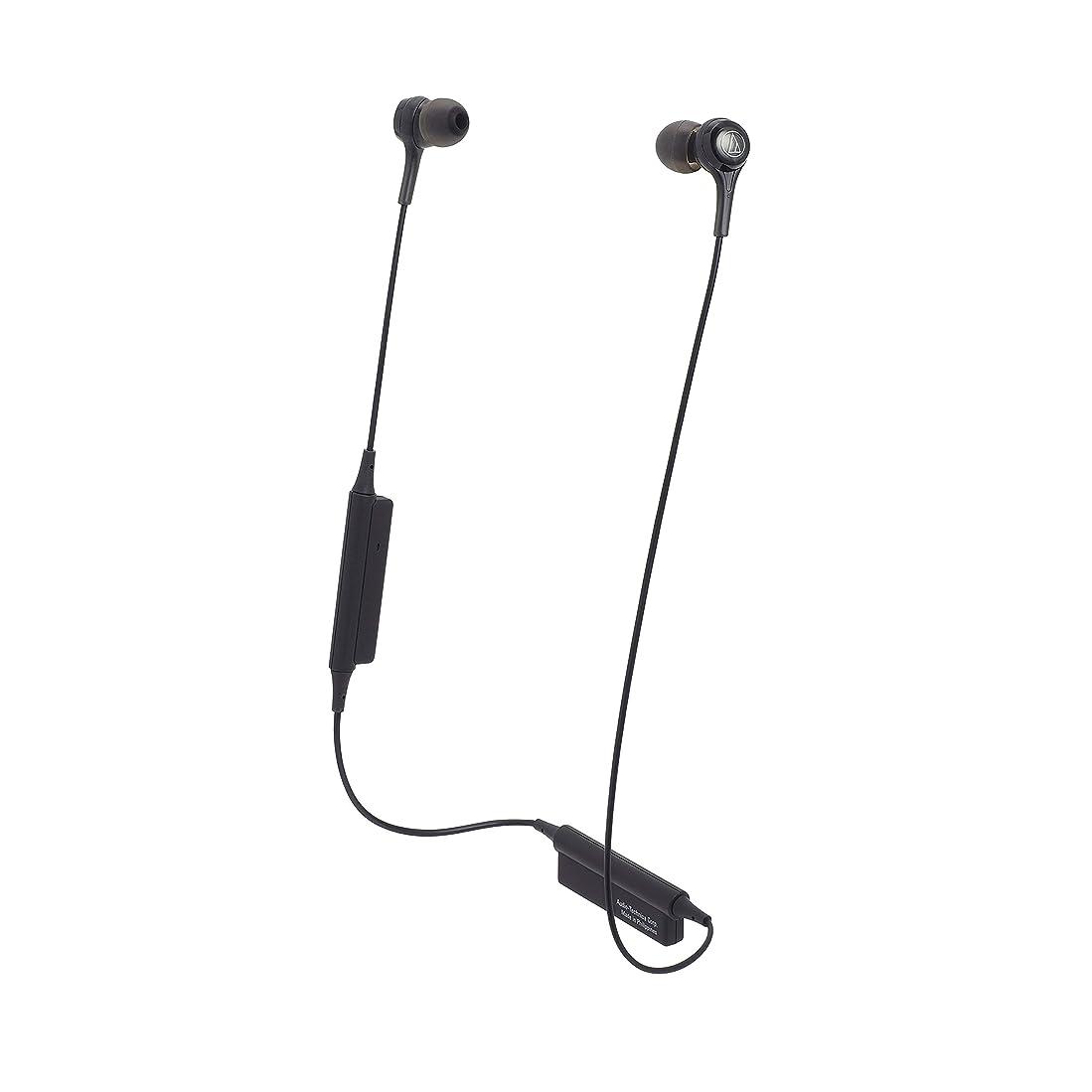 溶岩救出八オーディオテクニカ Bluetooth対応ワイヤレスイヤホン(ブラック)audio-technica ATH-CK200BT BK