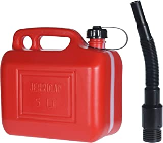 5 liter 5L 10L 20L Liter Quality Metal Jerry Can Green Car Storage Fuel Petrol Diesel Heavy Duty Container Camping Garage Jeep Truck Van Barrel etc. 5 L