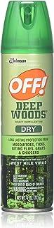 Off Deep Woods Dry Aerosol 4 Oz, pack of 2