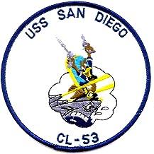 USS San Diego CL-53 Patch