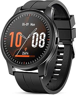 GOKOO Smartwatch Hombres Reloj Inteligente Pulsómetros Monitor de Actividad Recordatorio de Notificación Whatsapp Conexión...
