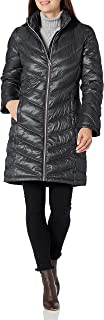 Women's Chevron Quilted Packable Down Jacket (Standard and Plus)