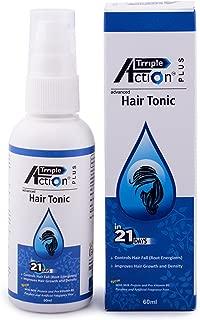 Qraa Triple Action Hair Tonic for Hair Fall Control, 50ml