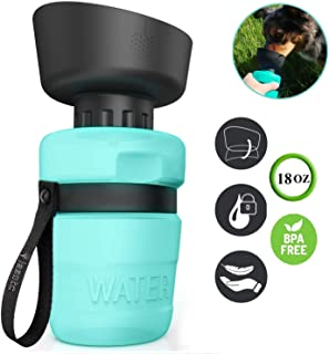 Dog Water Bottles,Dog Water Bottle for Walking,Pet Water Bottle for Dogs,Portable Dog Water Bottle Foldable,Dog Travel Water Bottle,Dog Water Dispenser,Dog Drinking Bottle,Lightweight & Convenient