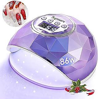 لامپ ناخن UV SKYMORE 86W ، ناخن خشک کننده UV UV با تنظیم 4 تایمر ، نور ماورا بنفش حرفه ای برای ژل لاک ناخن ، سنسور اتوماتیک (بنفش)