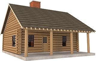 diy log cabin build