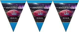 Super Bowl LII Pennant Flag Banner Superbowl 52