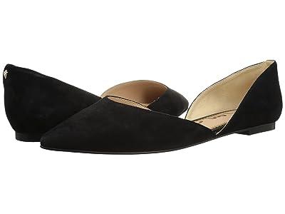 Sam Edelman Rodney (Black Suede Leather) Women