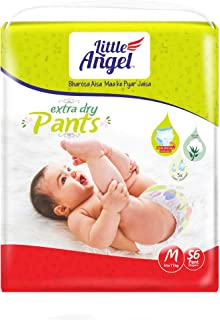 Little Angel Baby Diaper Pants, Medium-56 Units