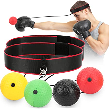 Xiton Reflex Boxing Ball Professional Boxing Reflex Speed Punch Ball Toy Mma Training Reaction and Focus Training