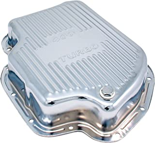 Spectre Performance 5459 Chrome Extra Capacity Transmission Pan for Turbo 400 Engines