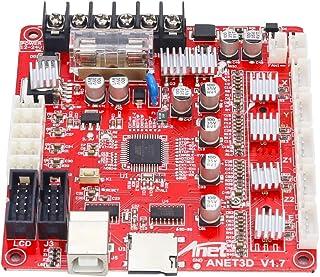 Placa base impresora 3D, Topuality control A1284-Base Placa madre Placa base para la Junta de impresora Anet A8 DIY Automontaje escritorio 3D RepRap Kit i3