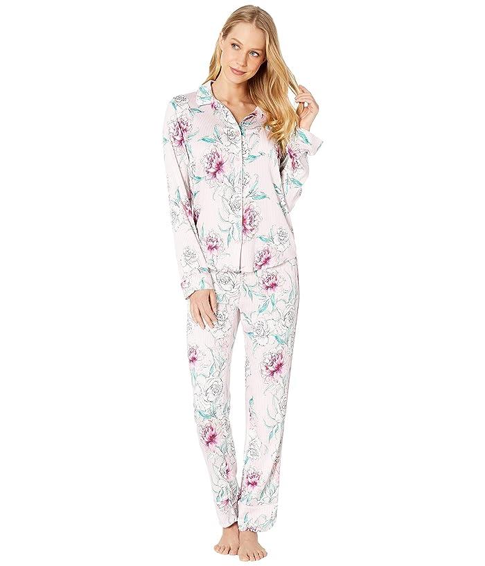 P.J. Salvage Floral PJ Set (Pale Pink) Women