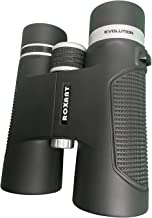 Roxant Authentic Evolution Professional High Definition Long Range Binoculars for Adults | 10x42 Shockproof, Dust Proof, Weatherproof Rubber Armor, Sturdy Metal Alloy Frame + Case & Accessories