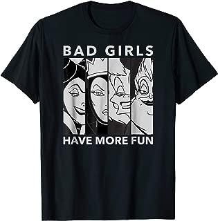 Villains Bad Girls T Shirt
