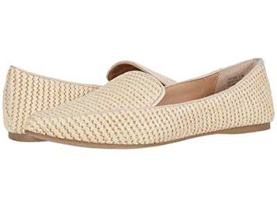 Steve Madden Feather Loafer Flat (Raffia) Women